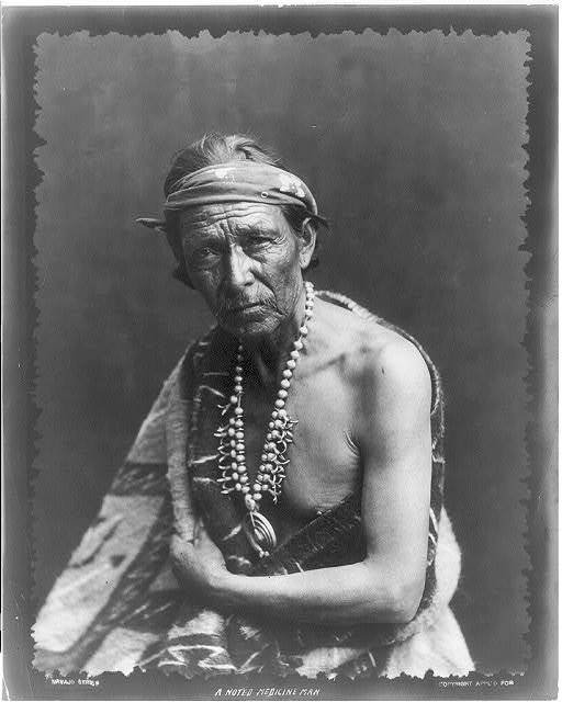 [Navaho Indians: A noted Medicine Man]