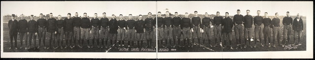 Notre Dame football squad, 1914