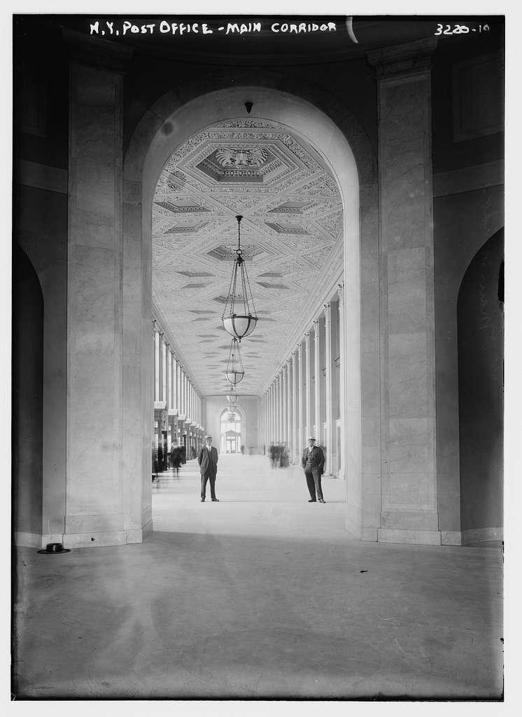 N.Y. Post Office -- main corridor