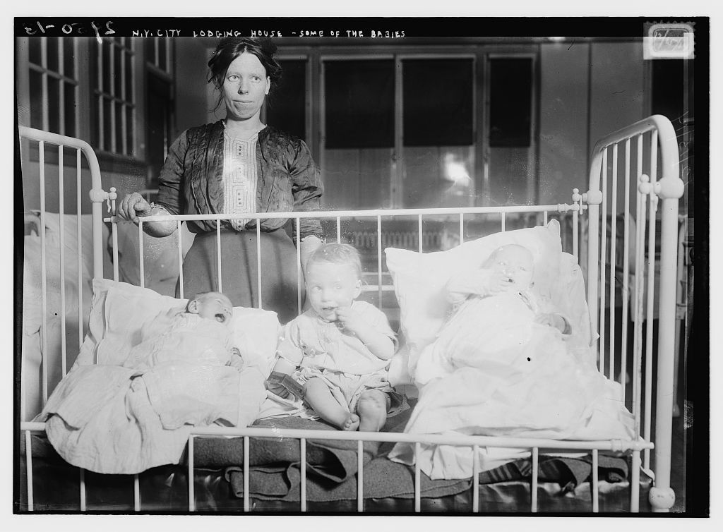N.Y.City lodging house - some of the babies