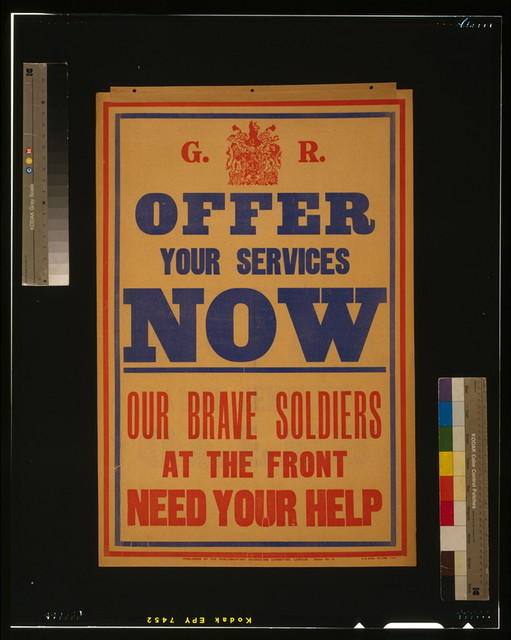 Offer your services now. Our brave soldiers at the front need your help / L.S. & Co.