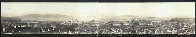 Panama-Pacific International Exposition, Feb. 20, 1914, one year before opening day