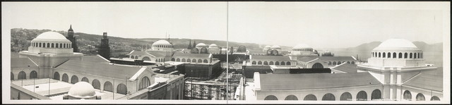 Panorama taken from Palace of Machinery, June First, 1914