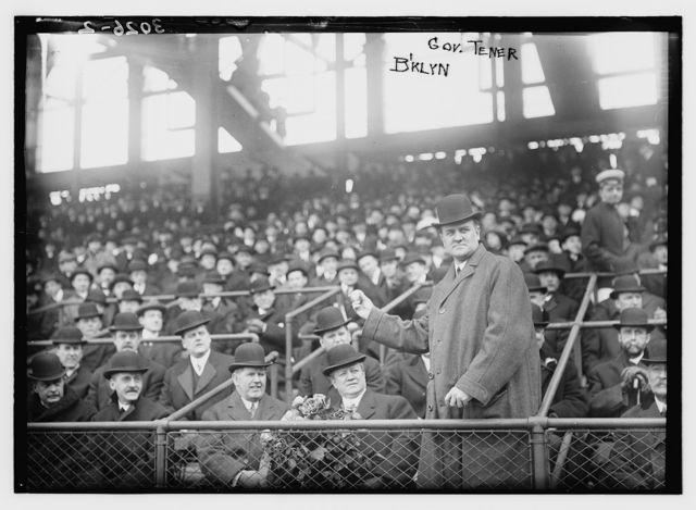 [Pennsylvania Governor John K. Tener at Ebbets Field (baseball)]