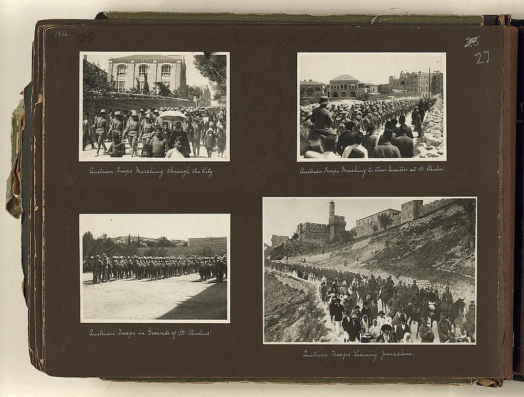 Photograph album, World War I, Palestine and Sinai