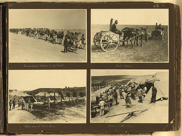 Photograph album, World War I, Palestine and Sinai