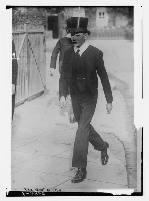 Prince Henry at Eton