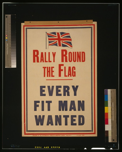 Rally round the flag. Every fit man wanted / H.T. & Co.