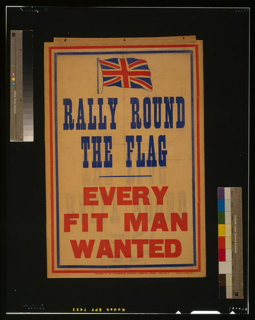 Rally round the flag. Every fit man wanted / L.S. & Co.