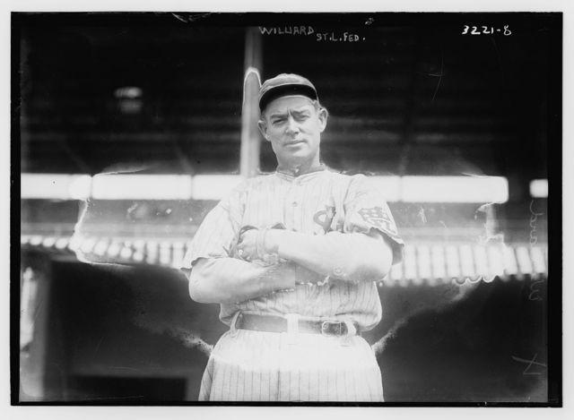 """[Robert """"Ed"""" Willett, St. Louis Federal League (baseball)]"""