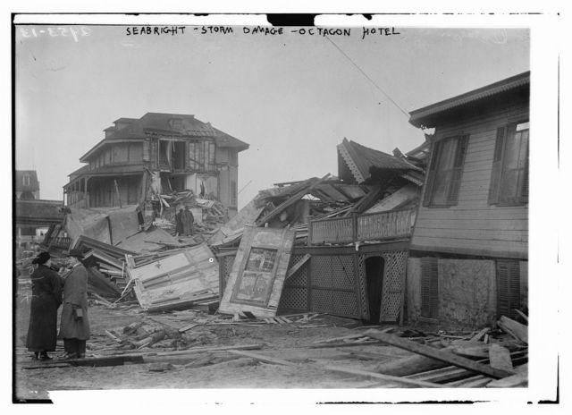 Seabright - storm damage - Octagon Hotel
