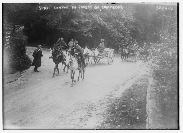 Spahi Convoy in Forest of Compiegne