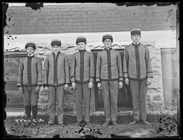 Students of the Industrial School, Kearney, Nebraska.