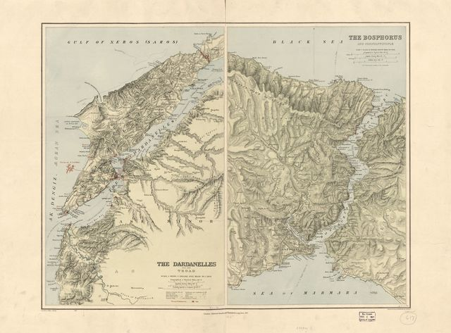 The Dardanelles and The Troad ; The Bosphorus and Constantinople /