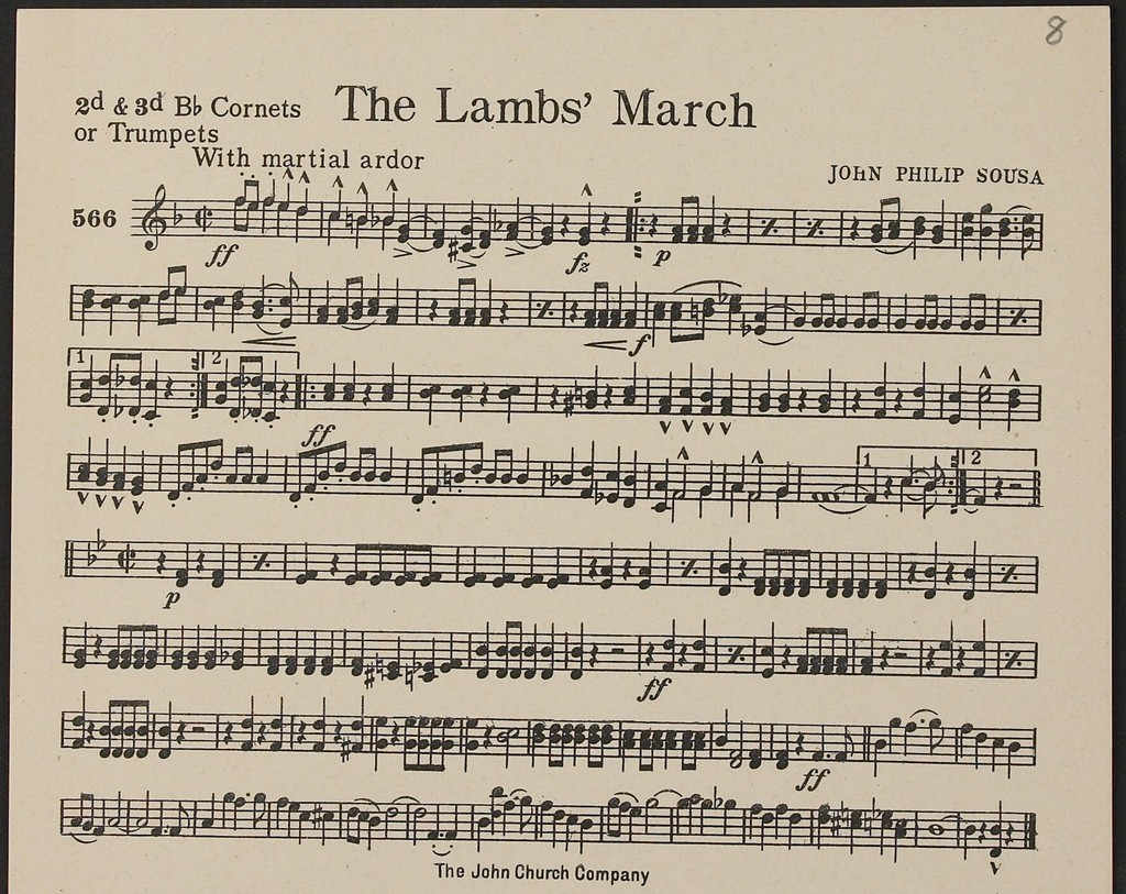 The  Lambs March