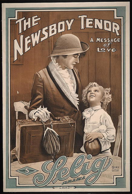 The newsboy tenor A message of love.