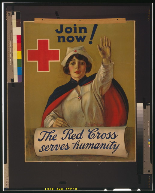 The Red Cross serves humanity Join now / / C.W. Anderson.