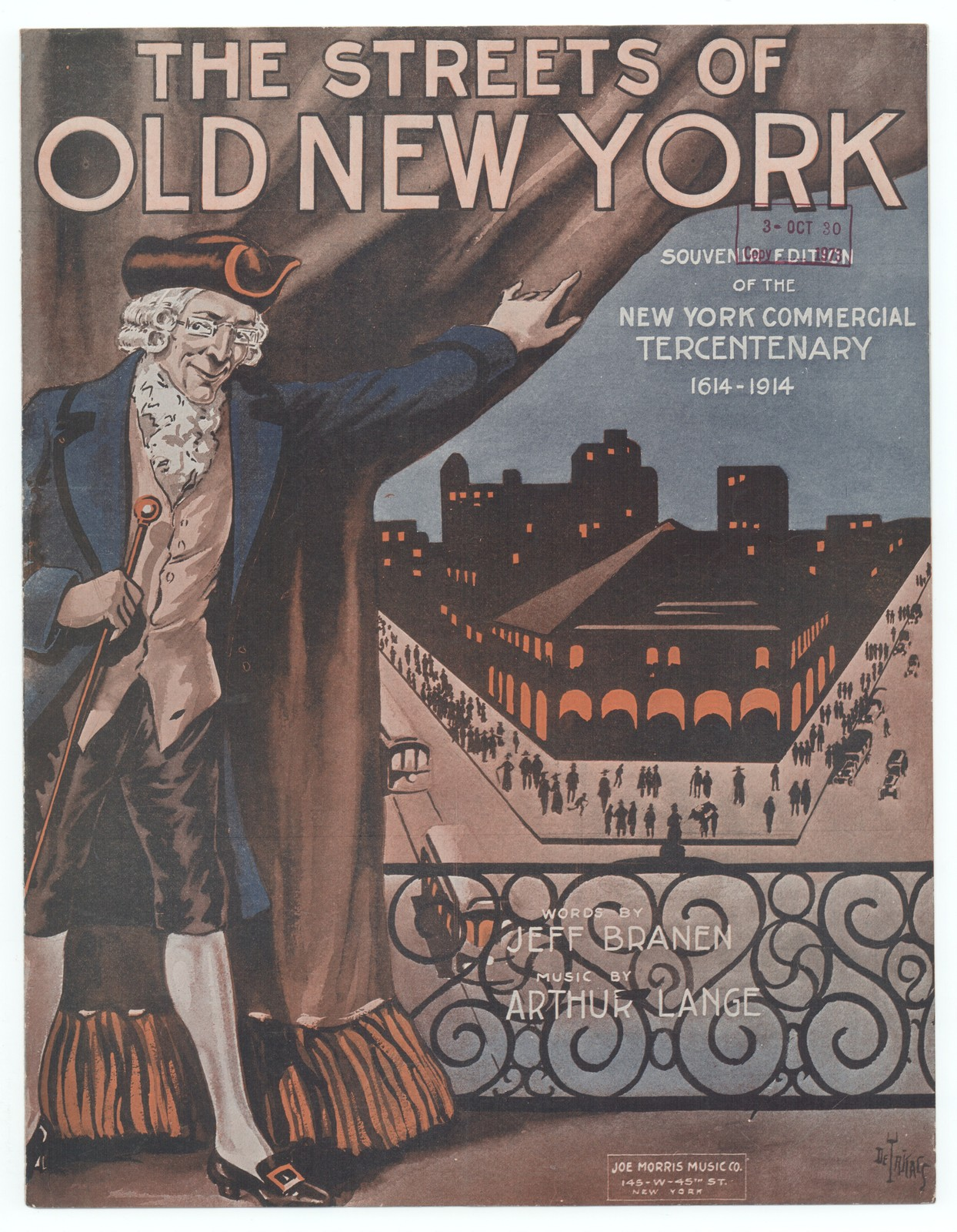 The  streets of old New York