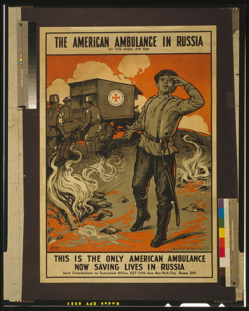 This is the only American ambulance now saving lives in Russia The American ambulance in Russia / / B.