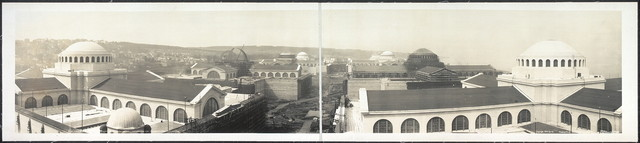 Top of Machinery Hall, April 1, 1914