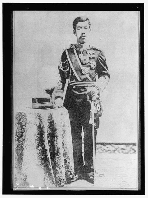 TOSHIHITO. THE MIKADO OF JAPAN, BORN 1879