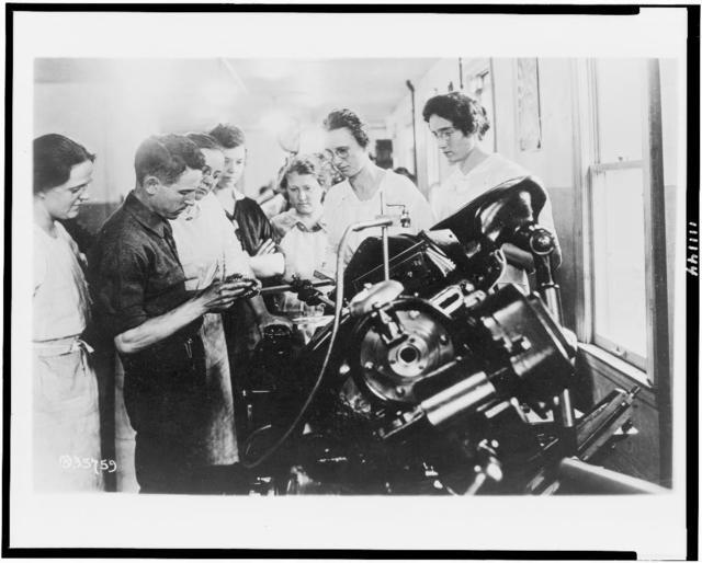 [Training school, Lincoln Motor Co., Detroit, Mich.]