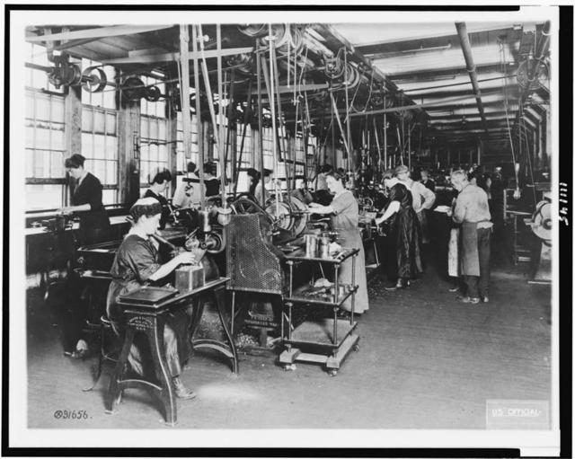 [Training school, Norton Grinding Co., Worchester, Mass.]