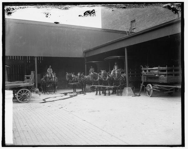 Truck yard, Gordon Pagel Co.