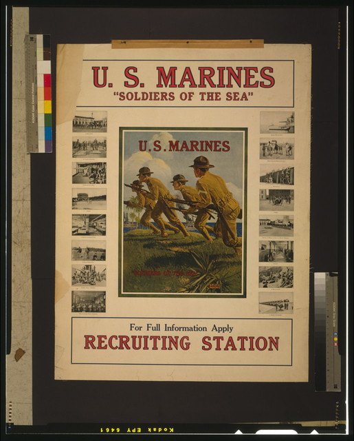 "U.S. Marines - ""Soldiers of the sea"" / Bruce Moore."
