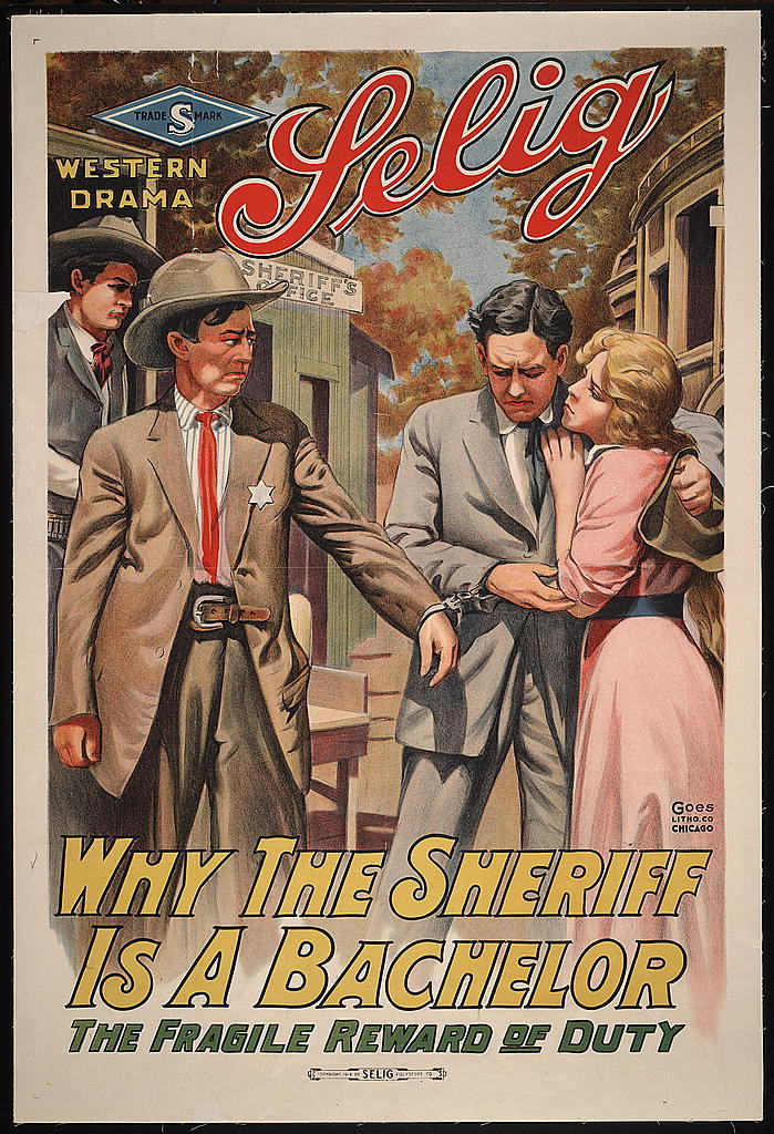 Why the sheriff is a bachelor The fragile reward of duty.