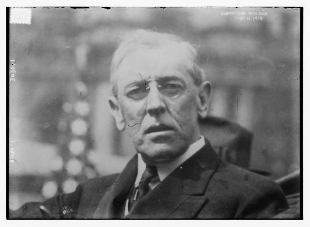 Woodrow Wilson, May 11, 1914