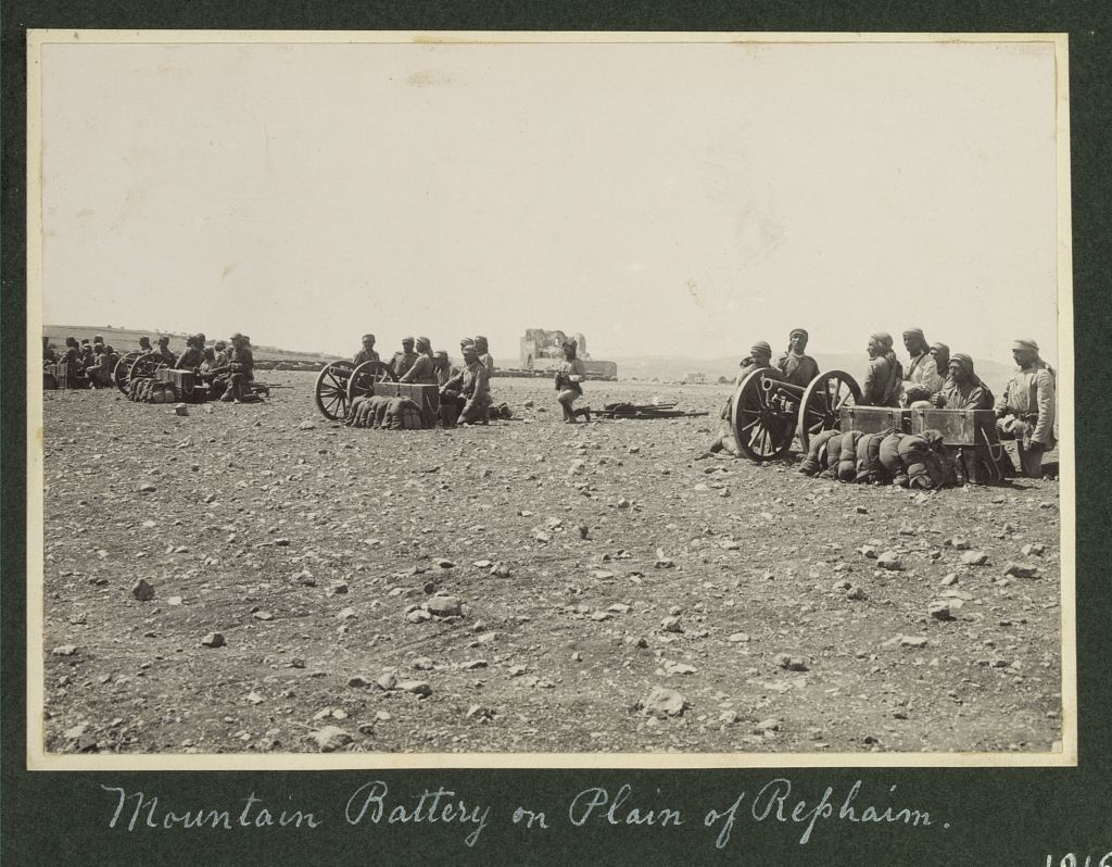 World War I in Palestine and the Sinai