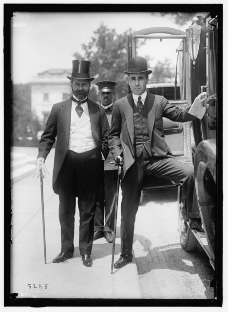 1ST PAN AMERICAN FINANCIAL CONFERENCE, ARGENTINE OFFICIALS: PEARSON, SAMUEL HALE, OF ARGENTINE MAY 1915; NAON, ROMULO S. E.E. AND M.P. FROM THE ARGENTINE