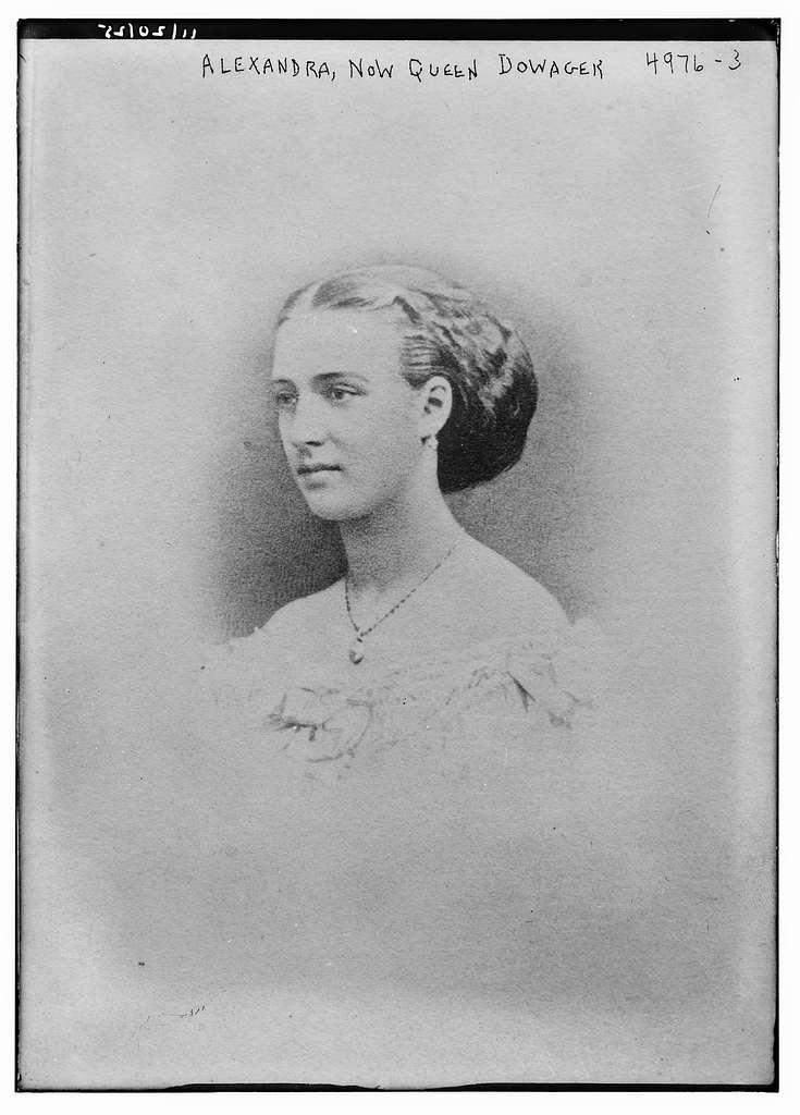 Alexandra, now Queen Dowager