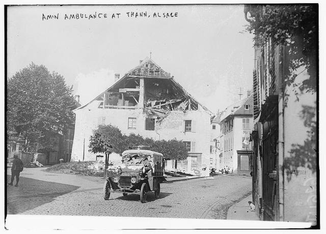 American Ambulance at Thann, Alsace