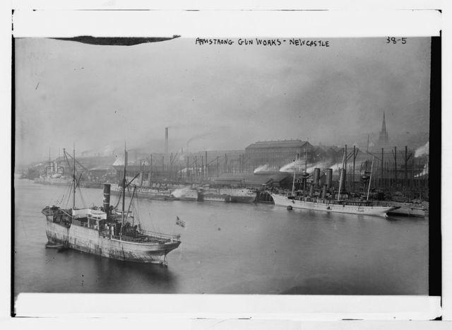 Armstrong gun works, Newcastle [docks]