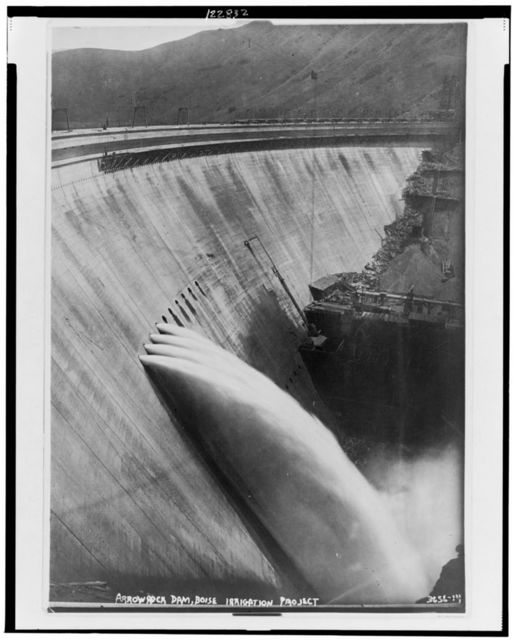Arrowrock Dam, Boise irrigation project