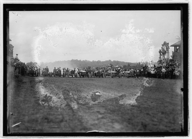 Auto races, Bennings, Md. [i.e., Washington, D.C.], 1915