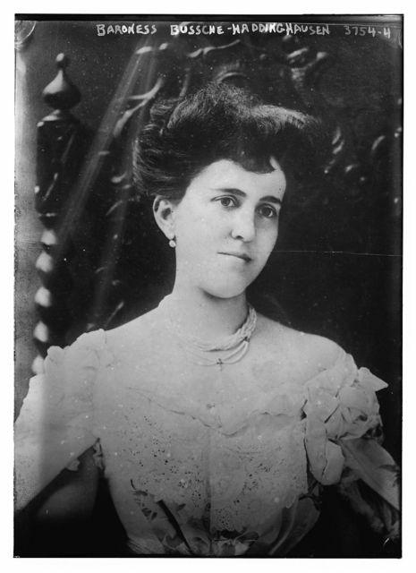 Baroness Bussche - Haddinghausen [i.e. Haddenhausen]