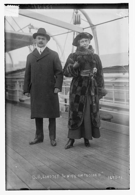 B.B. Lindsey & wife on OSCAR II