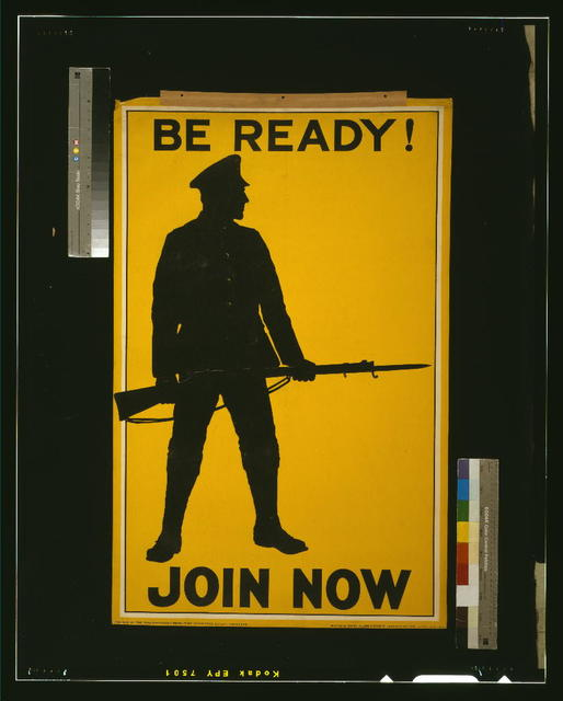 Be ready! Join now / printed by David Allen & Sons Ld. Harrow, Middlesex.