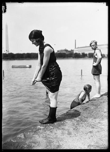 Beatrice Smith at Tidal Basin [Washington, D.C.]