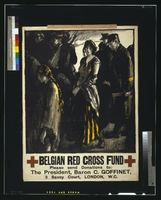 Belgian Red Cross fund / printed by Johnson, Riddle & Co., Ltd., London S.E.