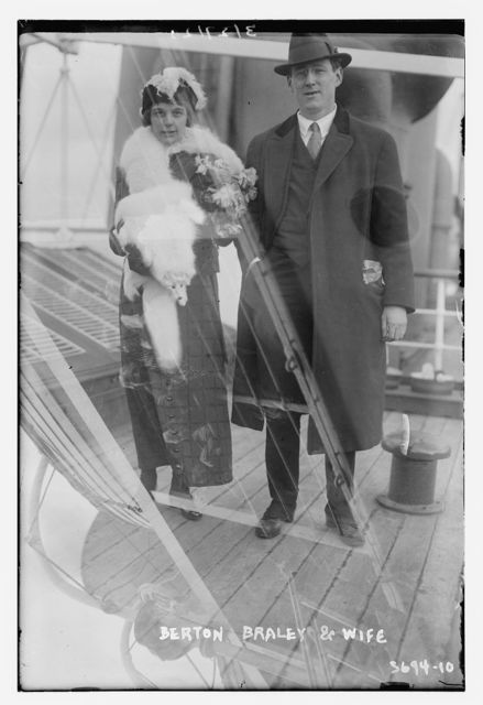 Berton Braley and wife