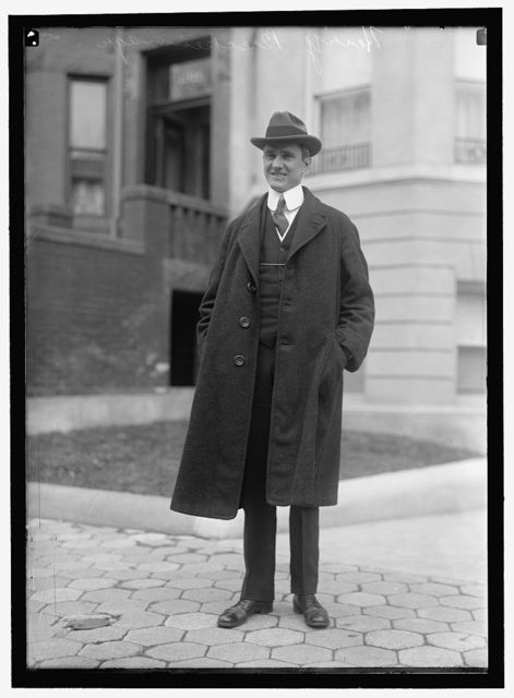 BRECKENRIDGE, HENRY C. ASSISTANT SECRETARY OF WAR, 1913-1916