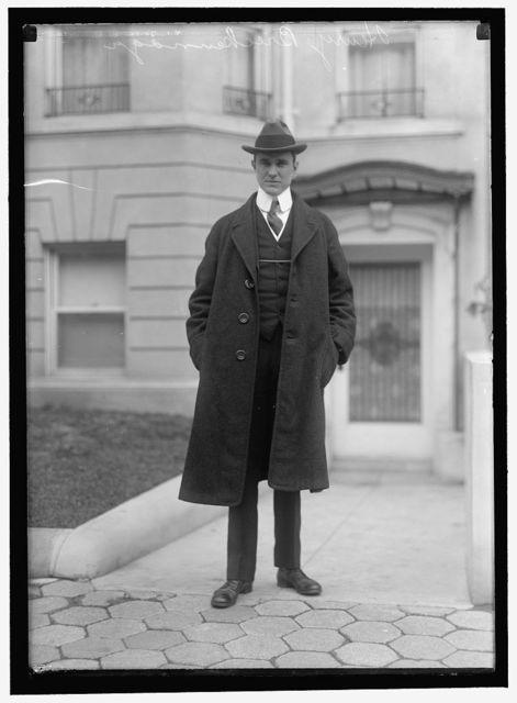 BRECKENRIDGE, HENRY C., ASSISTANT SECRETARY OF WAR, 1913-1916