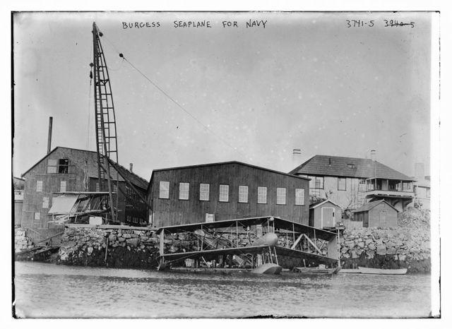 Burgess Seaplane for Navy