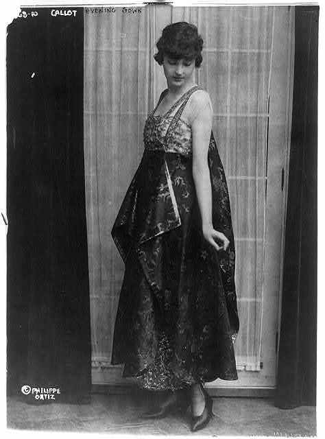 Callot evening gown