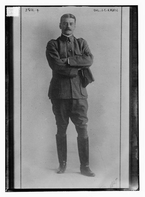 Col. J.C. Erwin