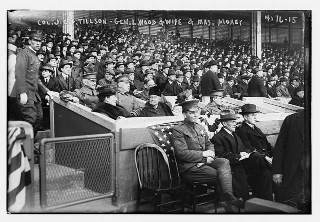 Col. J.C.F. Tillson, Gen. L. Wood & wife, Mrs. Morey